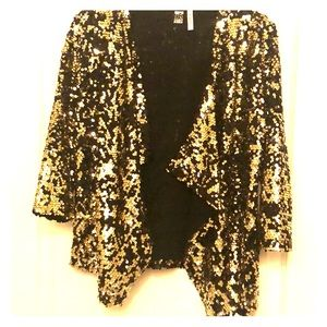 Sequined cardigan